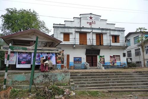 Za Bu Di Par Cinema - Bhamo, Myanmar Burma