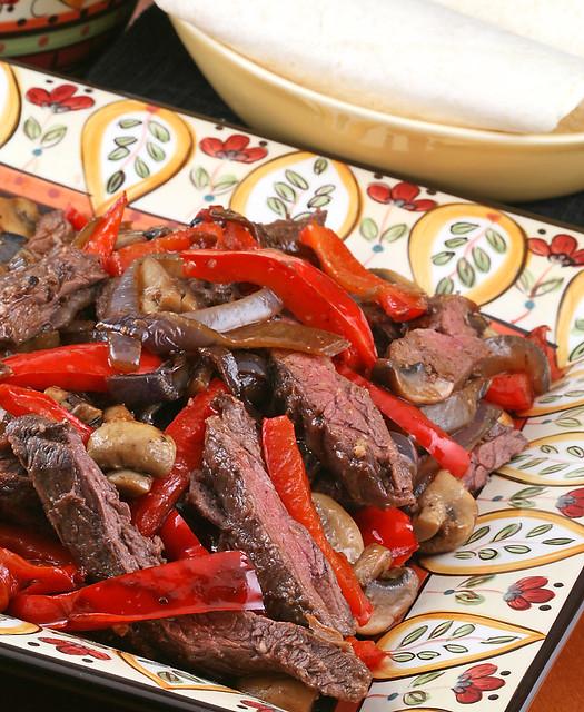 Grilled Steak Fajitas   Flickr - Photo Sharing!