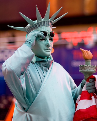 Statue of Liberty - Times Square