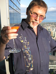 Bombay Sapphire on the Shangri-la's 58th Floor
