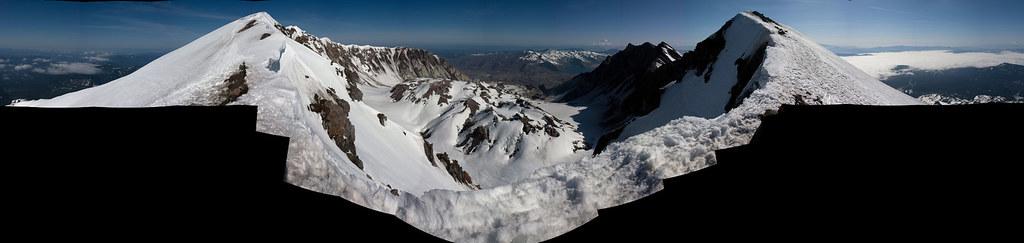 Crater panorama