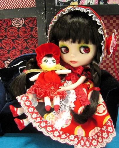 Bunka Doll outfit for blythe02 by nami*&Chitaki