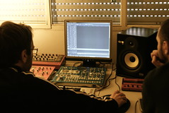 audio engineer, recording, screenshot, editing,