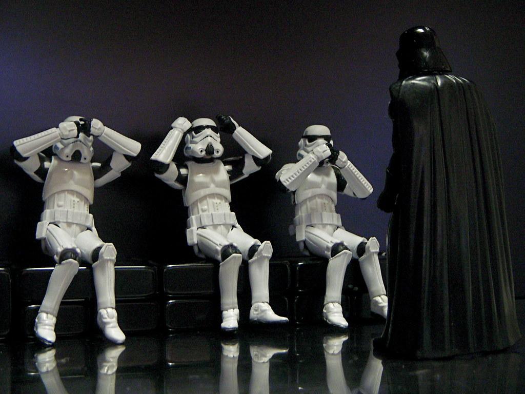 See No Vader, Hear No Vader, Speak No Vader