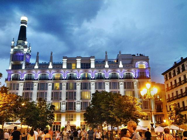 Hotel Me Madrid Plaza De Santa Ana A Gallery On Flickr