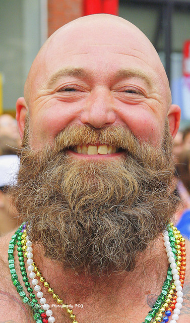 Bear gay goatee