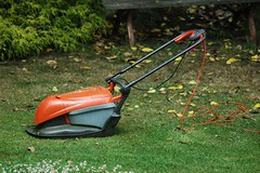 vehicle(0.0), outdoor power equipment(1.0), tool(1.0), mower(1.0), lawn mower(1.0), lawn(1.0),