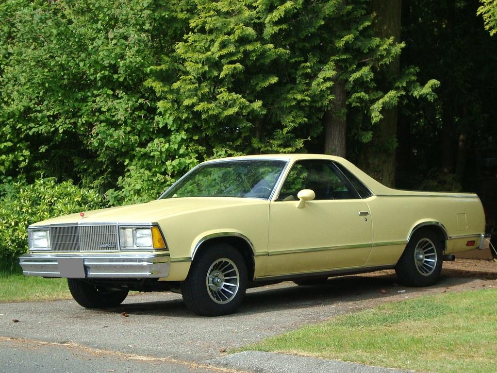 1980 Chevrolet El Camino - a photo on Flickriver