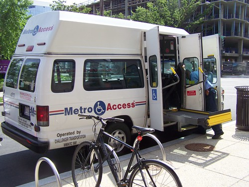 Metro Access paratransit vehicle
