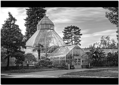 The Seymour Conservatory in Black and White