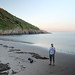 Caswell Bay dusk by Mr Ush