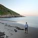 Caswell Bay dusk by Mr Ush