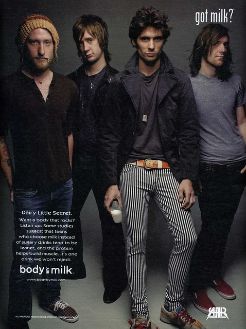 All-American Rejects - Got Milk 2008