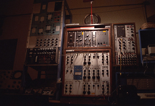 Buchla Modular Synthesizer by the HPB