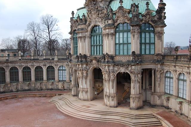 Dresdner zwinger wallpavillon for Hotelsuche dresden