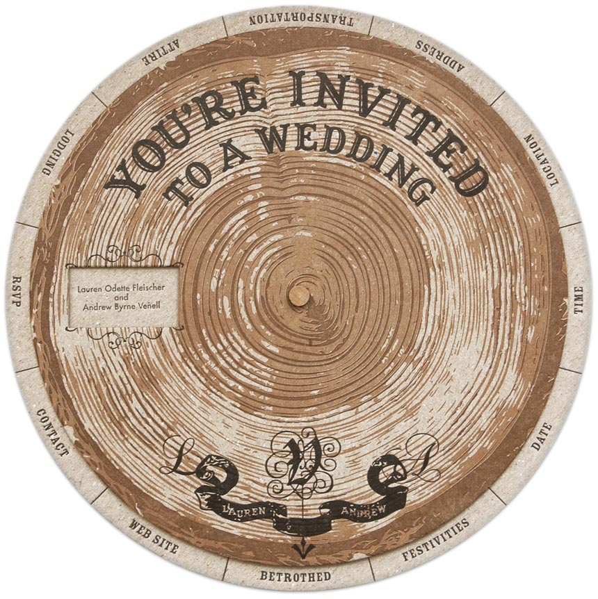 40 unique wedding invitation designs
