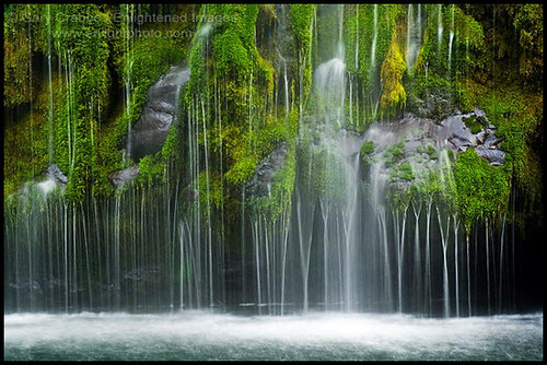 Mossbrea Falls Near Mt Shasta California Flickr