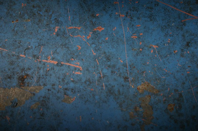 Blue Scratched Metal Texture Feel Free To Use Any Of My