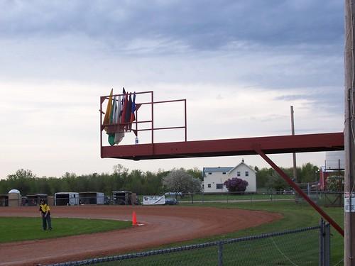 HI-Go Raceway (5.23.09) - New flagstand into turn 1