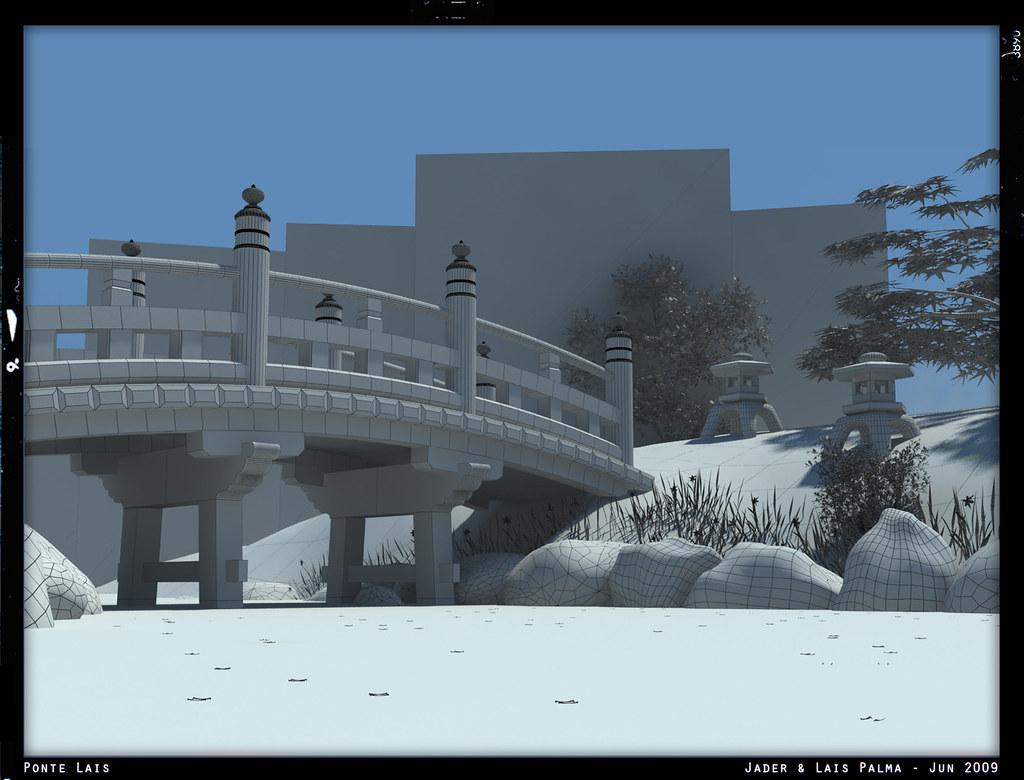 Ponte Lais - Wireframe by Jader Palma