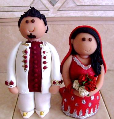 Personalised Wedding Cake Topperd