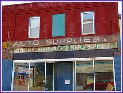 Auto Supplies and ghost sign babble