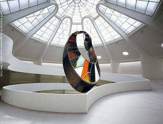 "INFINITY (Double Mobius Strip) 1by Plamen Yordanov, (""Re: Contemplating the Void"", Guggenheim Museum, New York, 2009)"