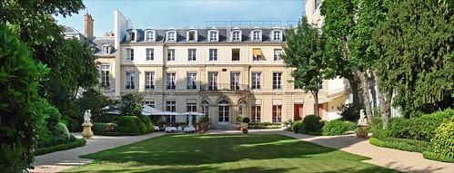 Le jardin de la maison de l'Amérique latine (Paris)