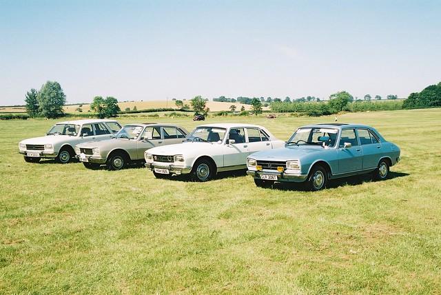 Peugeot 504 models (UK) by meyrickpark
