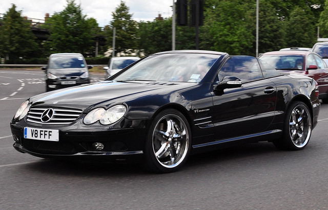 Mercedes benz sl55 amg v8 kompressor flickr photo sharing for Mercedes benz v8 kompressor