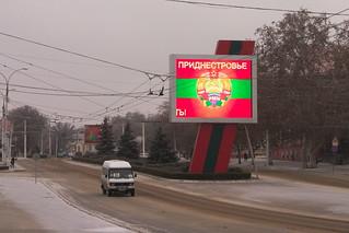 Tiraspol - Hauptstadt Transnistriens