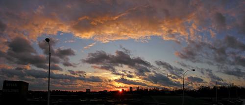 tadsunrise sunrisedaily raleighsunrise20090107