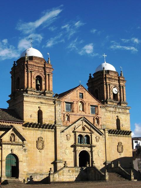 Iglesia de Monguí. Boyacá, colombia