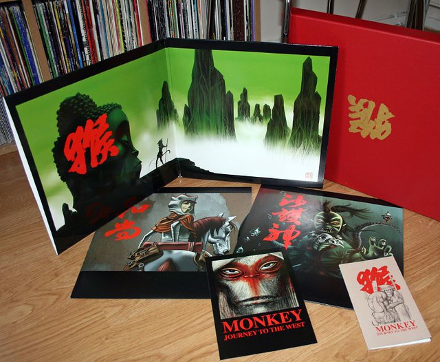 Monkey Journey To The West Limited Edition Vinyl