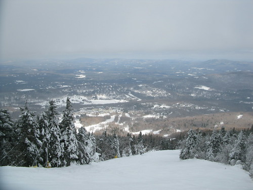 winter mountains skyline vermont skiing horizon skiresort vista stratton