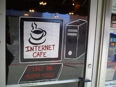 Internet Cafe - Cushing, Oklahoma