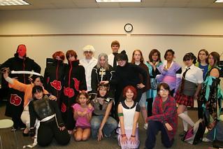 Anime Club Cosplay Oct. 2008