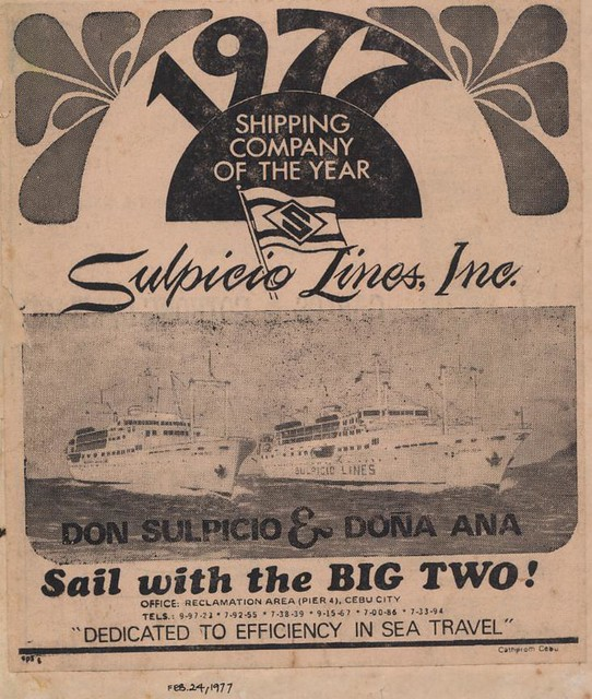 Don Sulpicio (Doña Paz) and Doña Ana (Doña Marilyn)