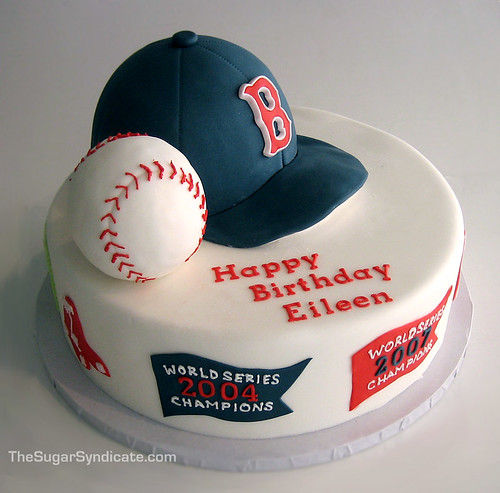 Red Sox Cake Images : Boston Red Sox Birthday Cake - a photo on Flickriver