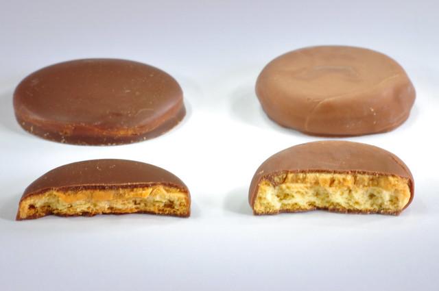 tagalongs vs peanut butter patties flickr   photo sharing