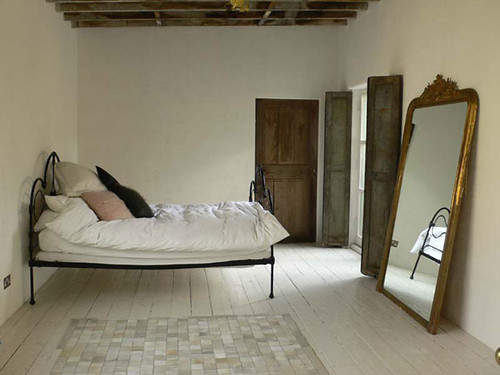 rustic white bedroom flickr photo