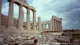 The Parthenon on the Acropolis in 2000