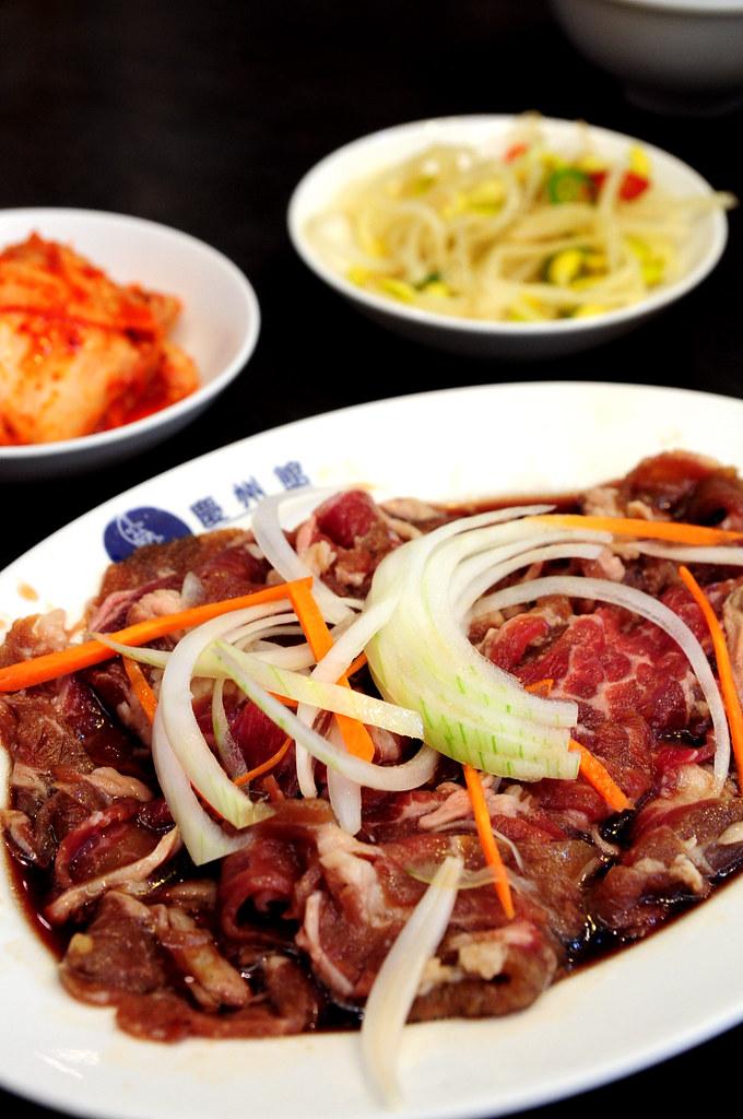 慶州館-銅盤烤肉(牛肉)