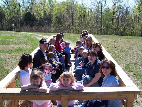 Kid-friendly is our middle name! We'll be doing hay wagon rides during the festival.
