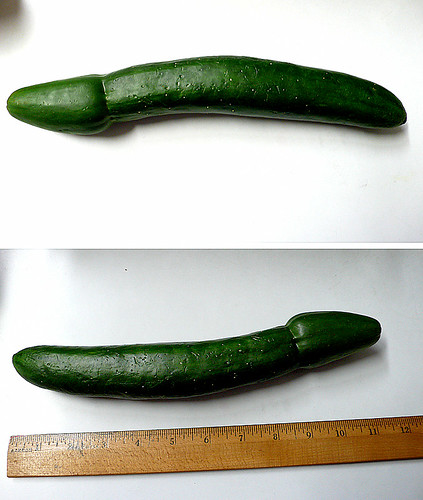 "cucumber aka ""jolly green giant"""