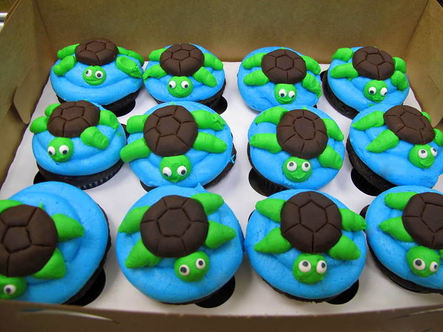 turtle cupcakes explore sweettoothfairys photos on