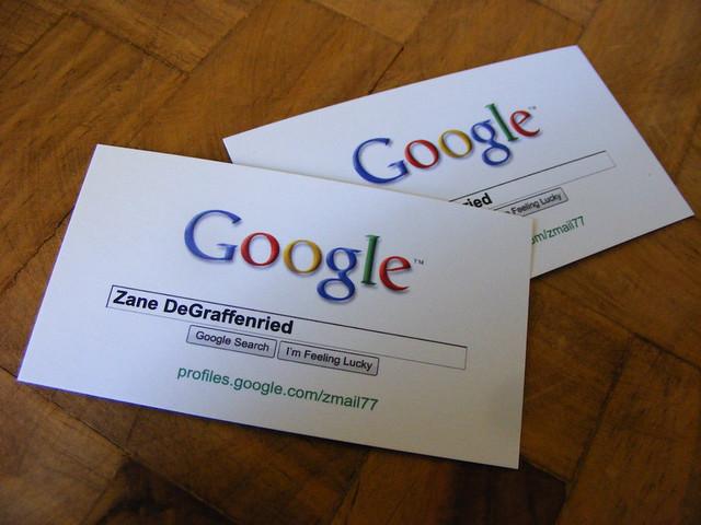 Google Business Card 2