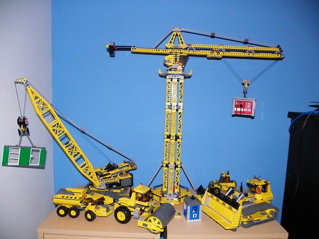Lego Tower Crane Lego 7905 Building Crane 8