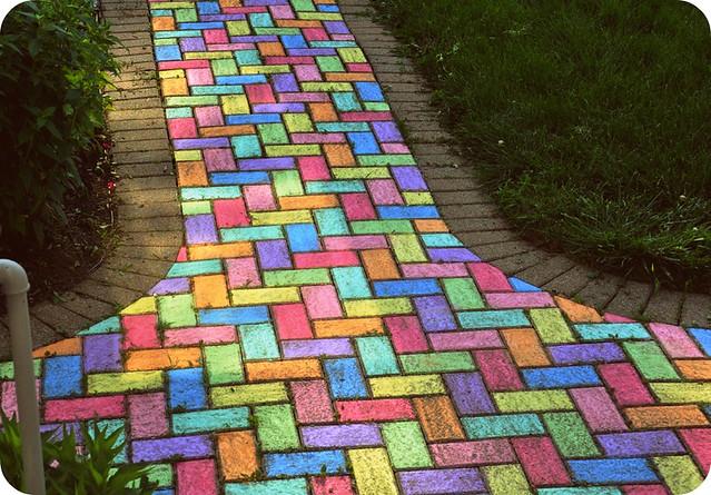 Sidewalk Chalk May 31, 2009