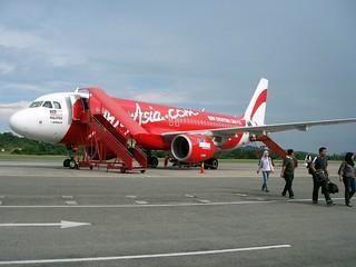 Air Asia A320 @Langkawi